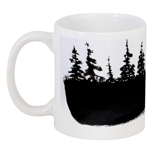 Кружка Printio Dark forest krauss n forest dark