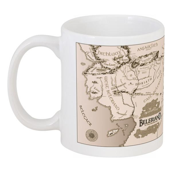 Кружка Printio Карта средиземья кружка пивная printio карта средиземья