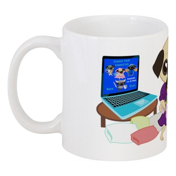Printio Мопс-геймер цена и фото