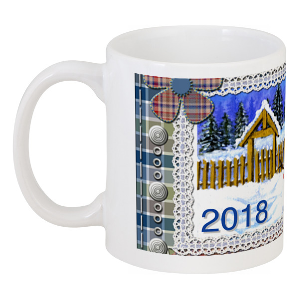 Кружка Printio Новый год за окном цена