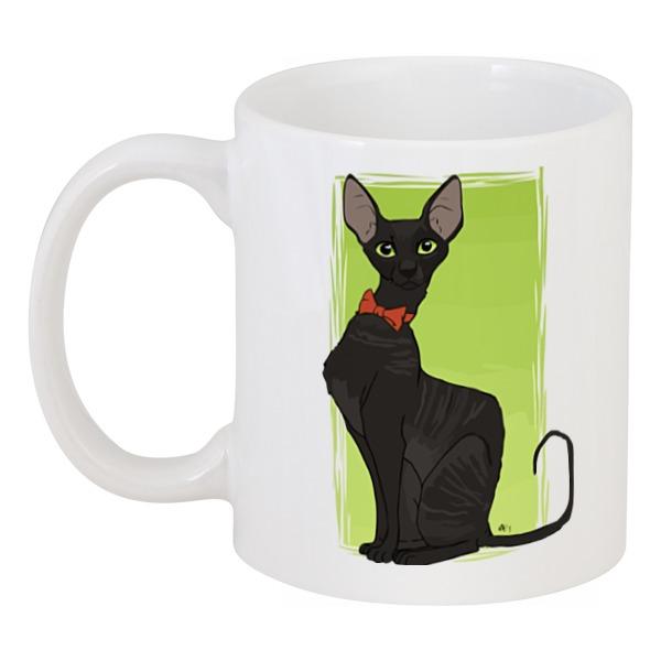 Кружка Printio Чёрная кошка
