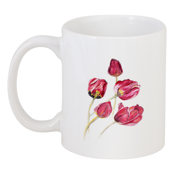 Кружка Printio Тюльпаны