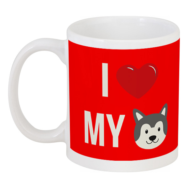 все цены на Кружка Printio Я люблю свою собаку онлайн