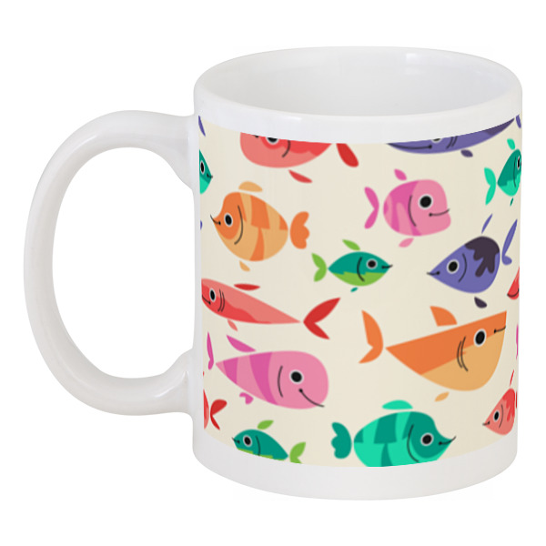Кружка Printio Рыбки