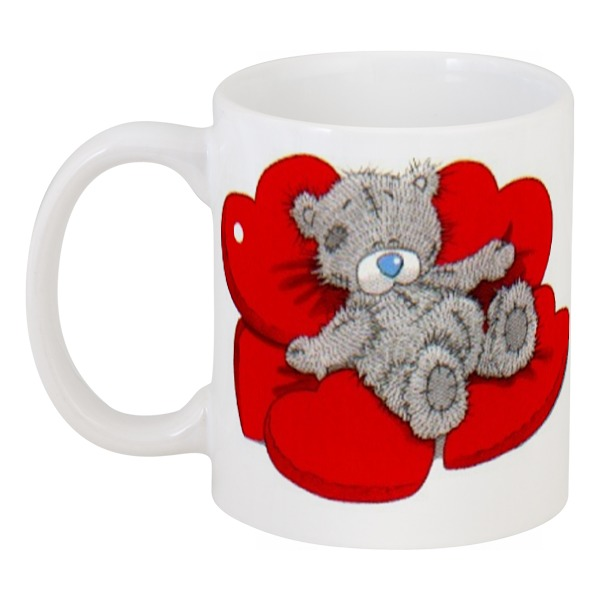 Фото - Кружка Printio Мишка тедди роспись керамики кружка мишки 43696