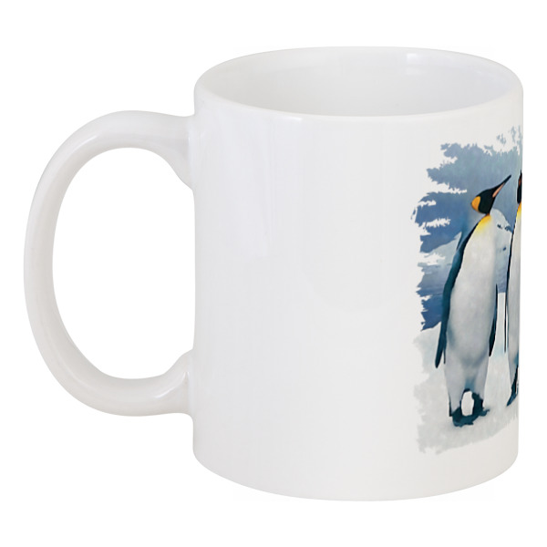 Кружка Printio Три пингвина костюм пингвина москва