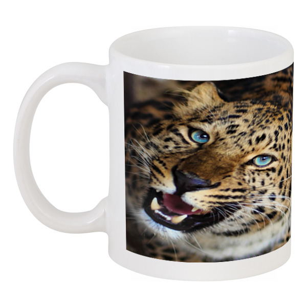 Кружка Printio Леопард shauna леопард коричневый