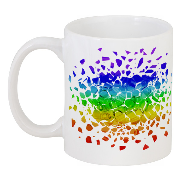 Кружка Printio Rainbow кружка фарф 310мл конич матроска тм rainbow 1183127