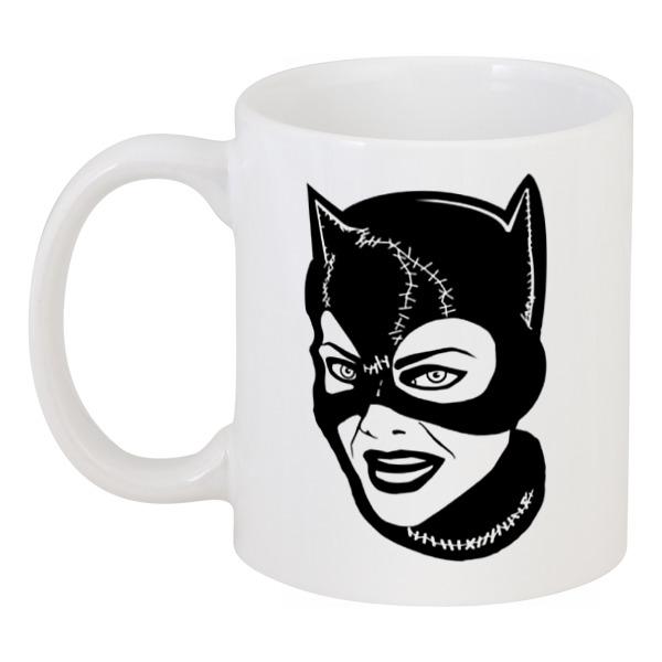 Кружка Printio Женщина-кошка (catwoman) кружка цветная внутри printio кружка женщина кошка catwoman