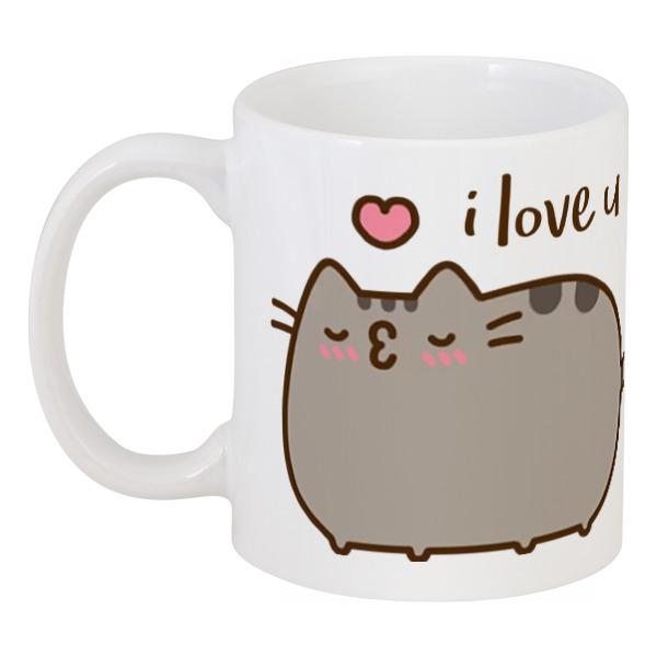 Printio Влюбленный котик кружка printio признание в любви