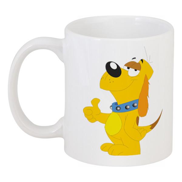 Кружка Printio Забавный пёс кружка printio пёс с косточкой