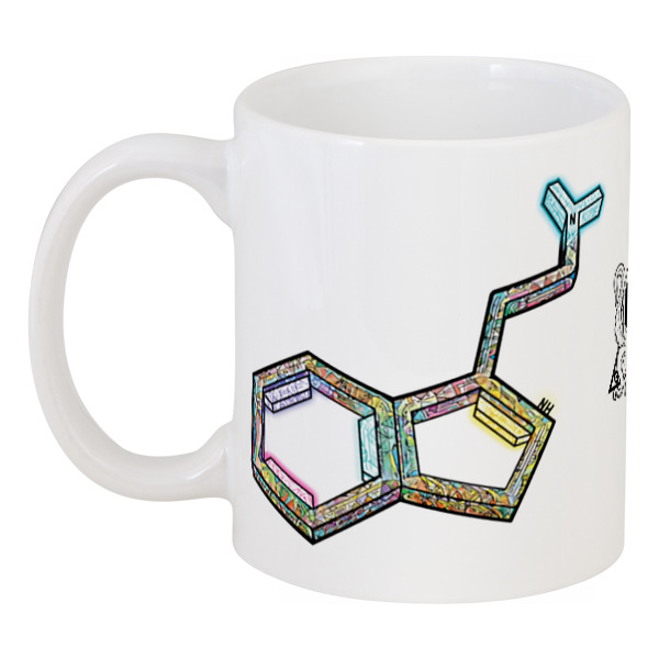 Printio Dmt molecule cup 3d кружка printio raw cup