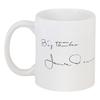 """Кружка """"Джеймс Дин James Dean Подпись"""" - стиль, ретро, кино, джеймс дин, james dean"""
