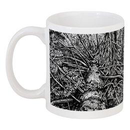 """Кружка """"Глухой лес"""" - рисунок, деревья, графика, природа, подарок"""