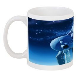 """Кружка """"Водолей"""" - водолей, aquarius, зодиак, знаки зодиака, астрология"""