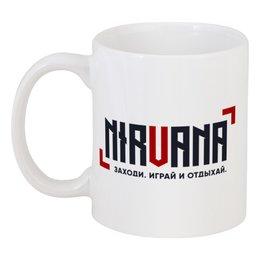 "Кружка ""NIRVANA"" - counter-strike, server, csnirvana"