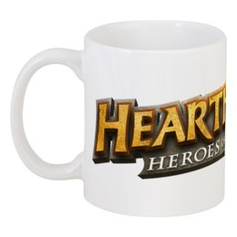 "Кружка ""Хартстоун логотип"" - warcraft, blizzard, варкрафт, hearthstone, хартстоун"