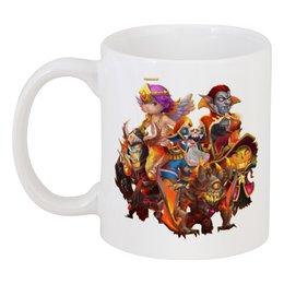 """Кружка """"Утро начинается не с кофе"""" - утро, castle clash, битва замков"""