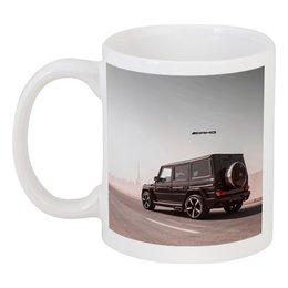 "Кружка ""Mercedes benz ///AMG (гелендваген)"" - mercedes, amg, геледваген, гелек, g-klass"