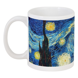 "Кружка ""Ван Гог. Звездная ночь"" - арт, картина, ван гог, живопись"