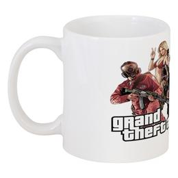 "Кружка ""Grand Theft Auto V"" - grand theft auto, gta, гта, gta 5, rockstar games"