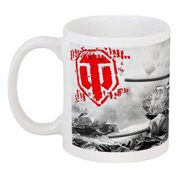 "Кружка ""Tea Mug WOT"" - арт, games, игры, игра, game, логотип, world of tanks, танки, wot, tanks"