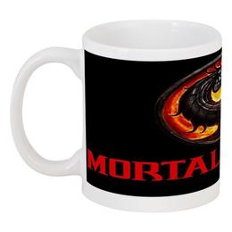 """Кружка """"Mortal Kombat"""" - mortal kombat, смертельная битва, mk, мортал комбат, mortal combat"""