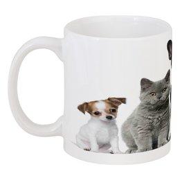 """Кружка """"Животные"""" - животные, кошки, коты, собаки, котята"""