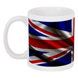 "Кружка ""Британский флаг"" - англия, флаг, британия"