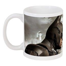 "Кружка ""Batman arkham knight / Бэтмен Рыцарь Готэма"" - batman, бэтмен, arkham knight, рыцарь готэма"