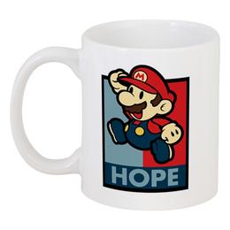 """Кружка """"Супер Марио"""" - super mario, супер марио, геймерские, игры, арт"""