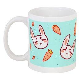 """Кружка """"Зайчики"""" - животные, заяц, фан-арт, зайчики, юкошоп"""