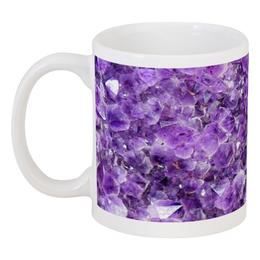 """Кружка """"Магия аметиста"""" - фиолетовый, камень, магия, аметист, сиреневы"""