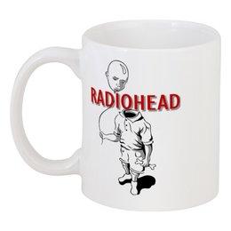 "Кружка ""Radiohead"" - музыка, рок, группы, radiohead"