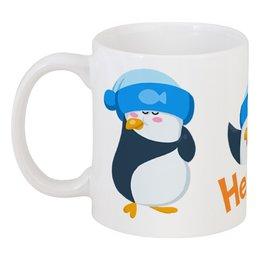 """Кружка """"стикерs"""" - арт, животные, пингвин, авторское, стикеры"""
