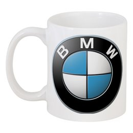 "Кружка ""BMW Motorsport"" - bmw, логотип bmw"