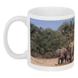 """Кружка """"слоны"""" - животные, природа, красота, семья, слоны"""