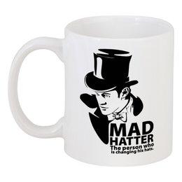 "Кружка ""Mad Hatter (Doctor Who)"" - доктор кто"
