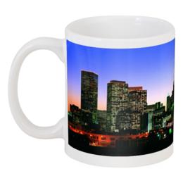 """Кружка """"Кружка (панорама города)"""" - прикольные, в подарок, оригинально, кружка"""