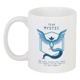 "Кружка ""Team Mystic"" - мультфильм, pokemon, покемон, мистик, mystic"