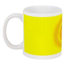 """Кружка """"Летнее настроение."""" - лето, позитив, солнце, жёлтый, настроение"""