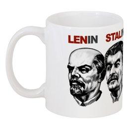 """Кружка """"Лидеры"""" - ленин, alien, россия, путин, сталин"""