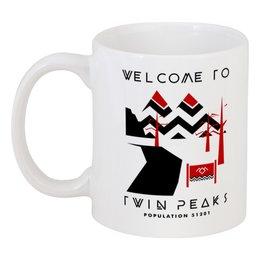 "Кружка ""Твин Пикс"" - twin peaks, лора палмер, твин пикс, дэвид линч, агент купер"