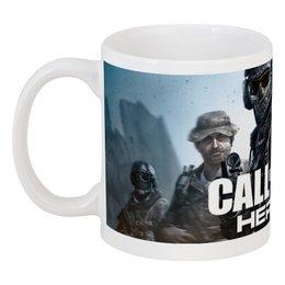 "Кружка ""Call of Duty"" - игры, call of duty"