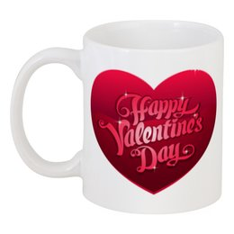 """Кружка """"День Св. Валентина"""" - день св валентина, сердце, любовь"""