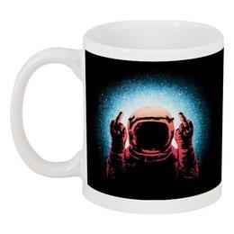 """Кружка """"Космонавт"""" - космос, космонавт, galaxy, cosmic, space"""