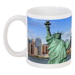 """Кружка """"New York"""" - new york, usa, сша, статуя свободы, нью йорк"""