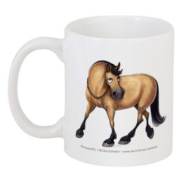 "Кружка ""LIBERTY TRAINING"" - лошадь, horse"