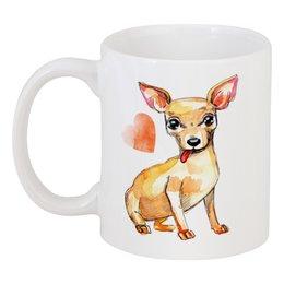 "Кружка ""Pam-pam-pam-pa-pa... Chihuahua!"" - арт, собака, чихуахуа"