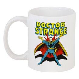 """Кружка """"Доктор Стрэндж"""" - комиксы, супегерои, доктор стрэндж, doctor strange"""